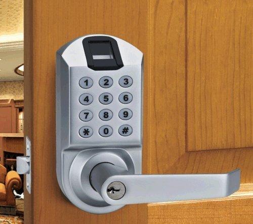 review ardwolf a1 biometric fingerprint keyless door lock. Black Bedroom Furniture Sets. Home Design Ideas